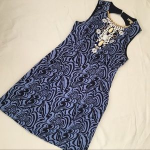 📚Nanette Lepore Beaded Neck Dress